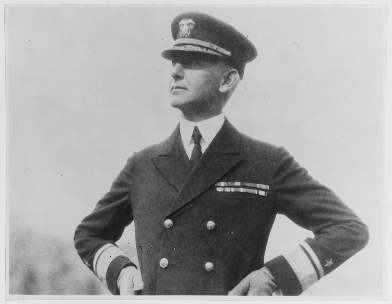 Rear Admiral Claude C. Bloch, USN, 1931.