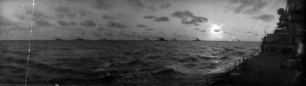 "Photo #: NH 2714  ""Sunset and Sea Power in the North Sea, April 1915"""