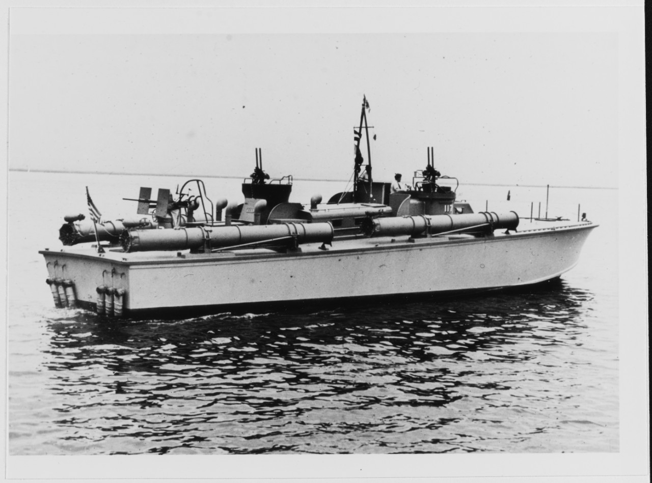 USS PT-117 Photographed in August 1942