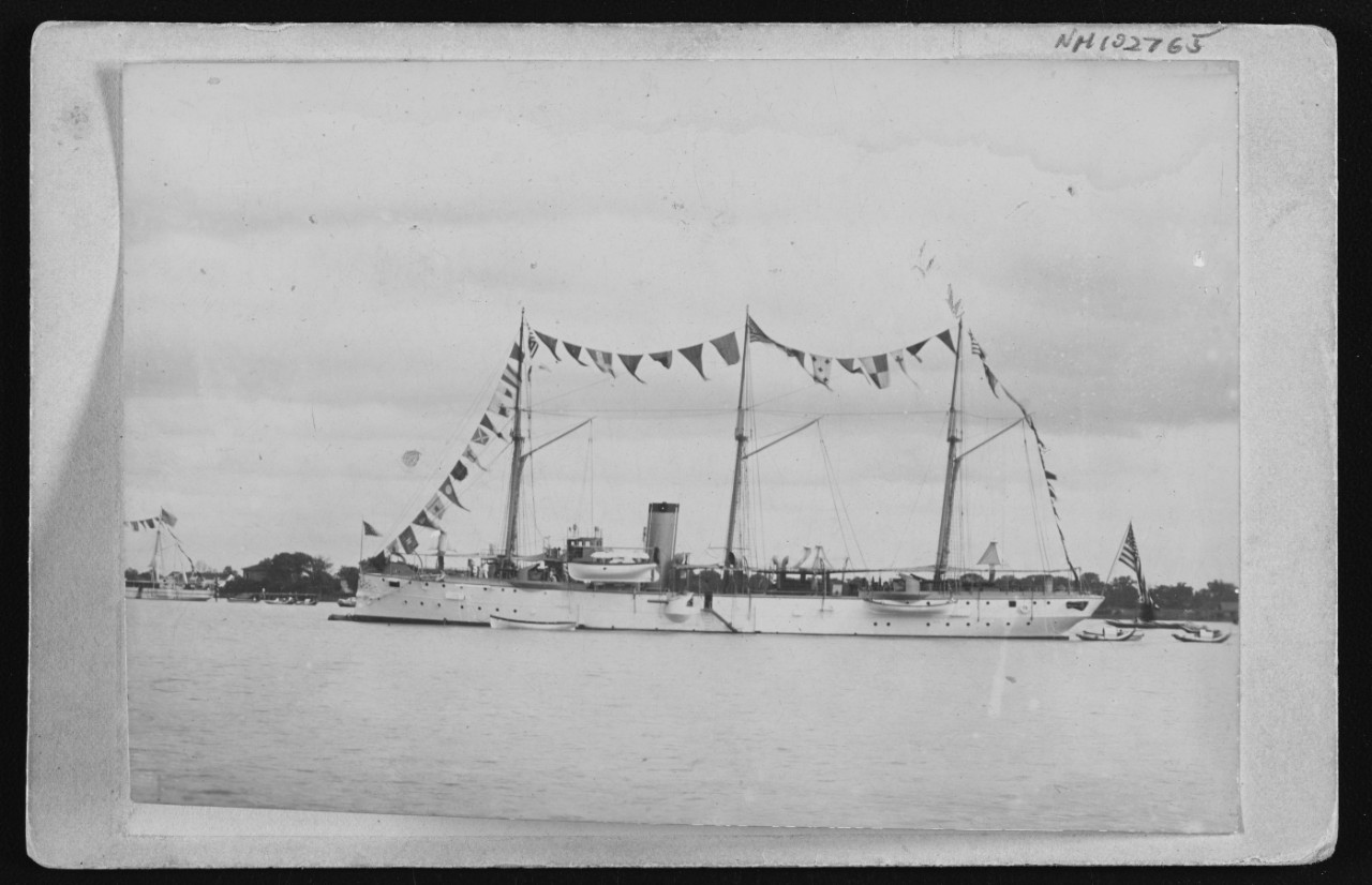 Photo #: NH 102765  USS Bennington