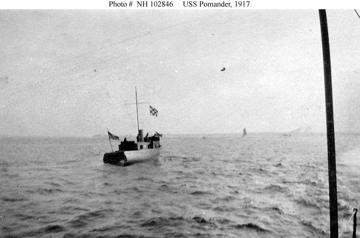 Photo #: NH 102846  USS Pomander