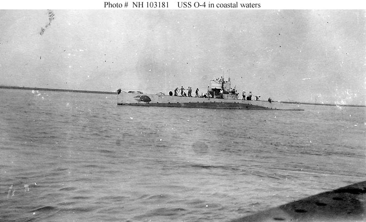 Photo #: NH 103181  USS O-4