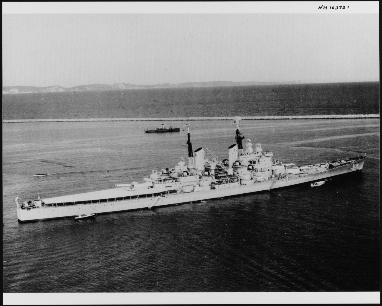 Photo #: NH 103731  HMS Vanguard