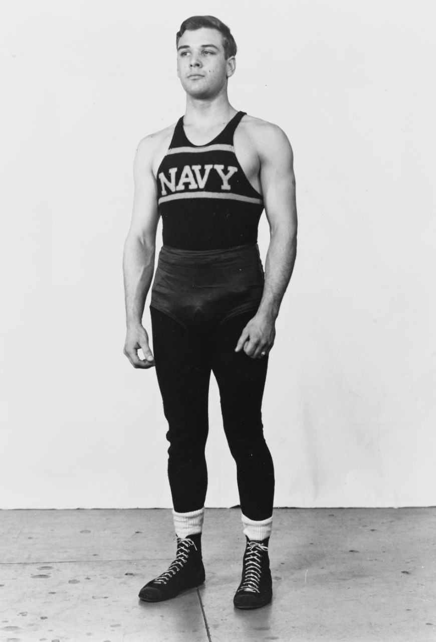 Photo #: NH 103824  Midshipman James L. Holloway, III, USN,