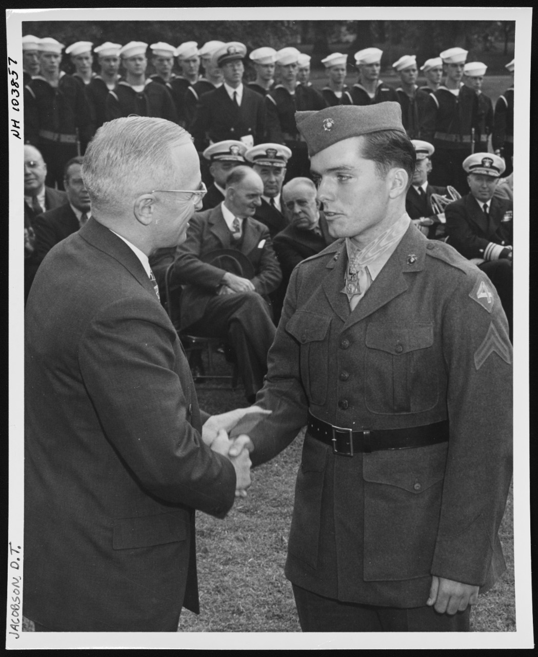 Photo #: NH 103857  Corporal Douglas T. Jacobson, USMC