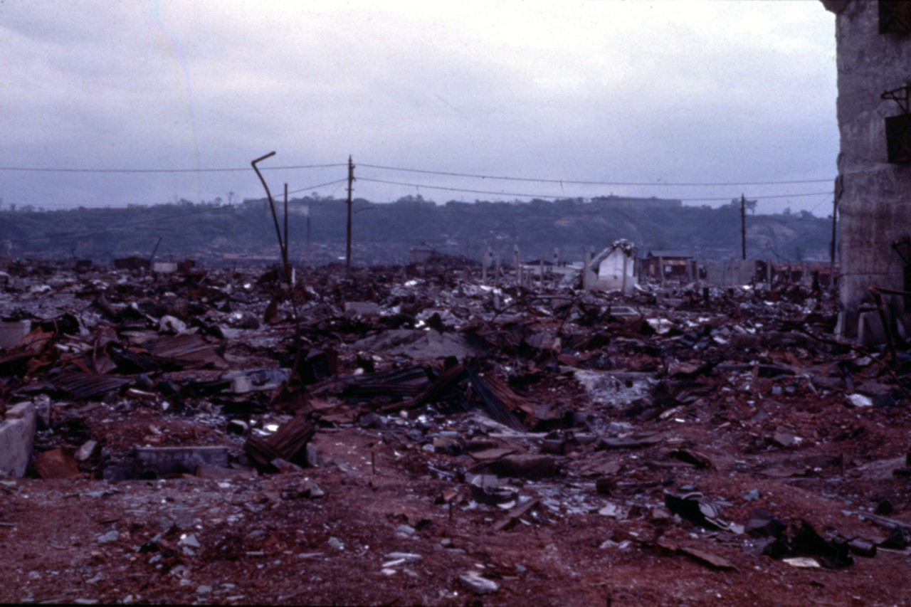Photo #: NH 104426-KN Bomb Devastation