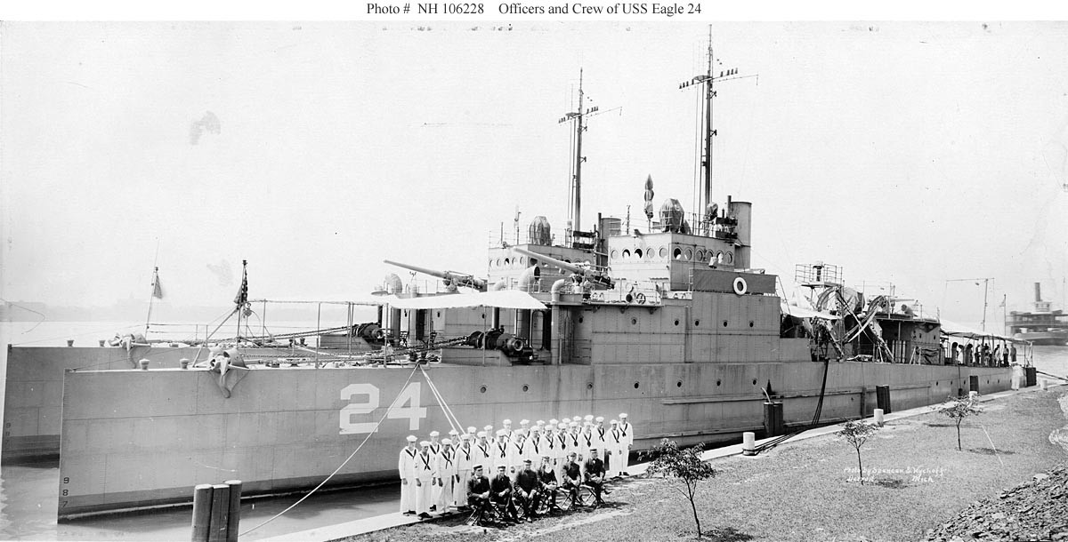 Photo #: NH 106228  USS Eagle 24