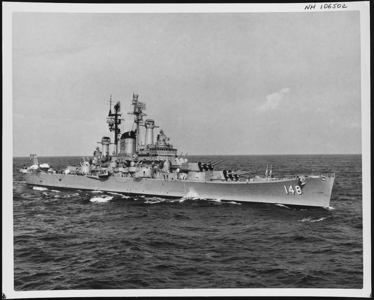 Photo #: NH 106502  USS Newport News