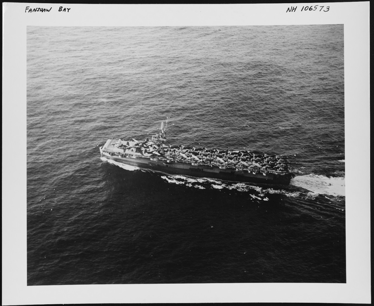 Photo # NH 106573  USS Fanshaw Bay