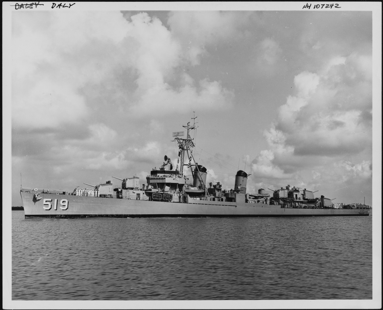 Photo #: NH 107242  USS Daly