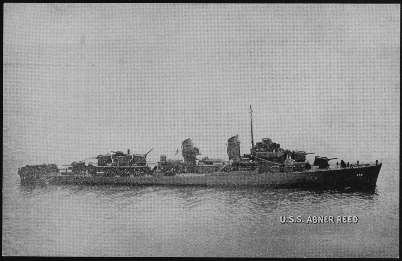 Photo #: NH 107243  USS Abner Reed