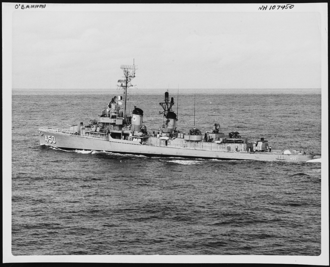 Photo #: NH 107450  USS O'Bannon