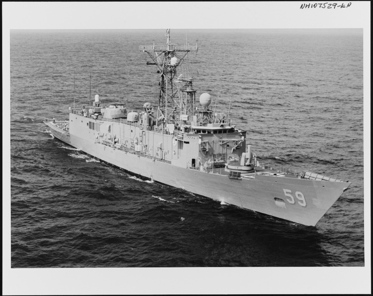 Photo #: NH 107529-KN USS Kauffman