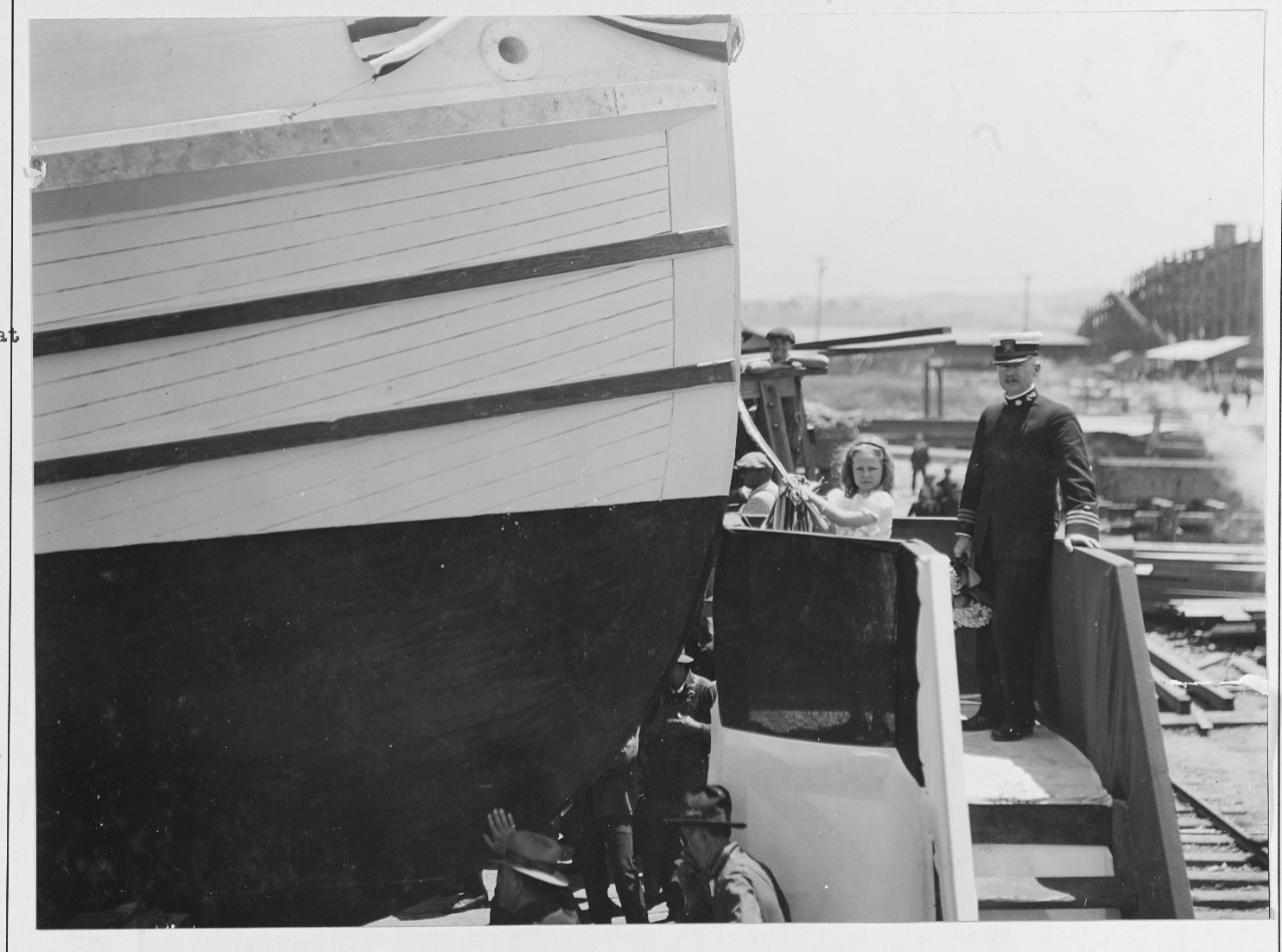 Photo #: NH 41799  U. S. Navy Ambulance Boat No. 1