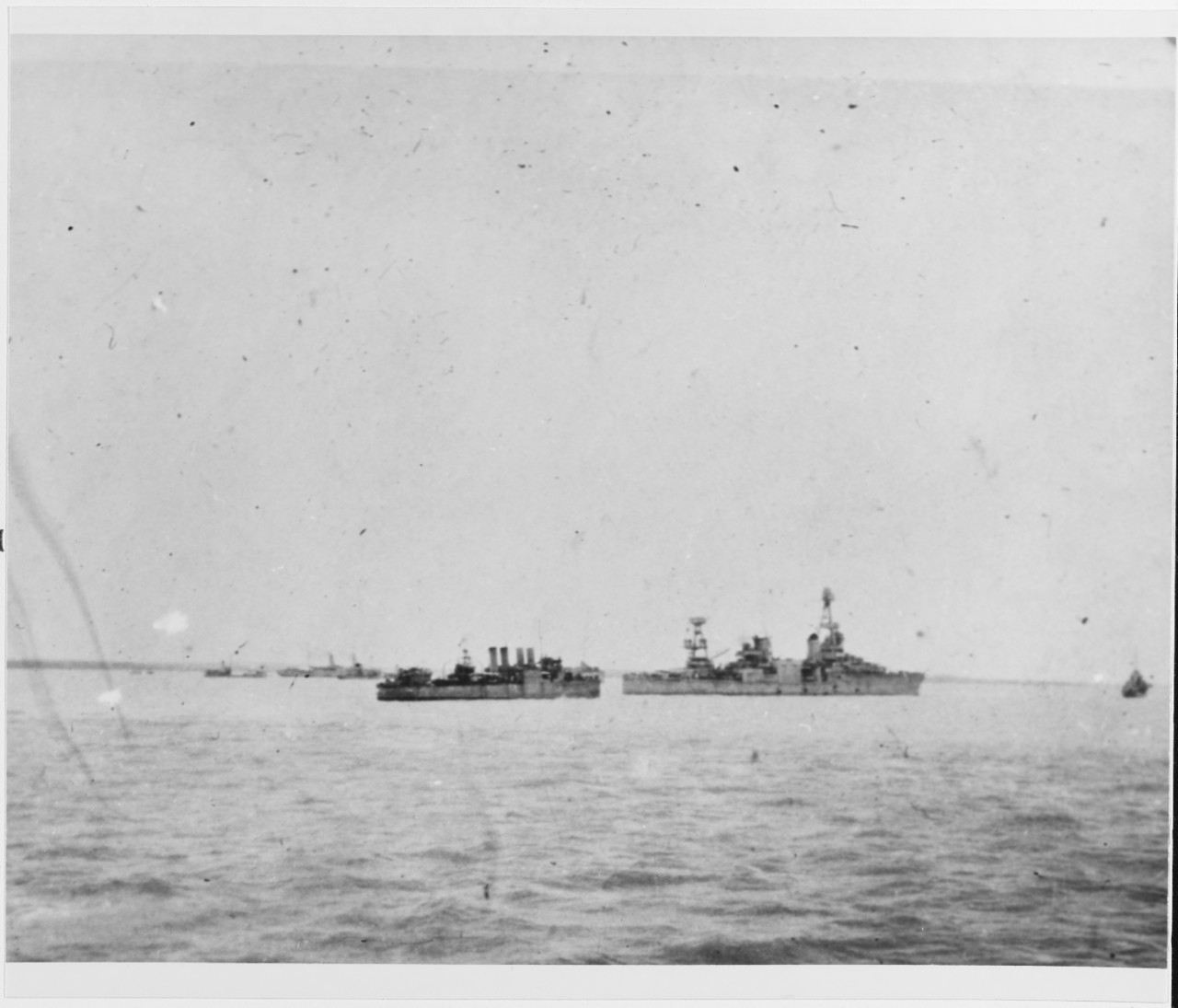 Photo #: NH 43649  USS Houston (CA-30)