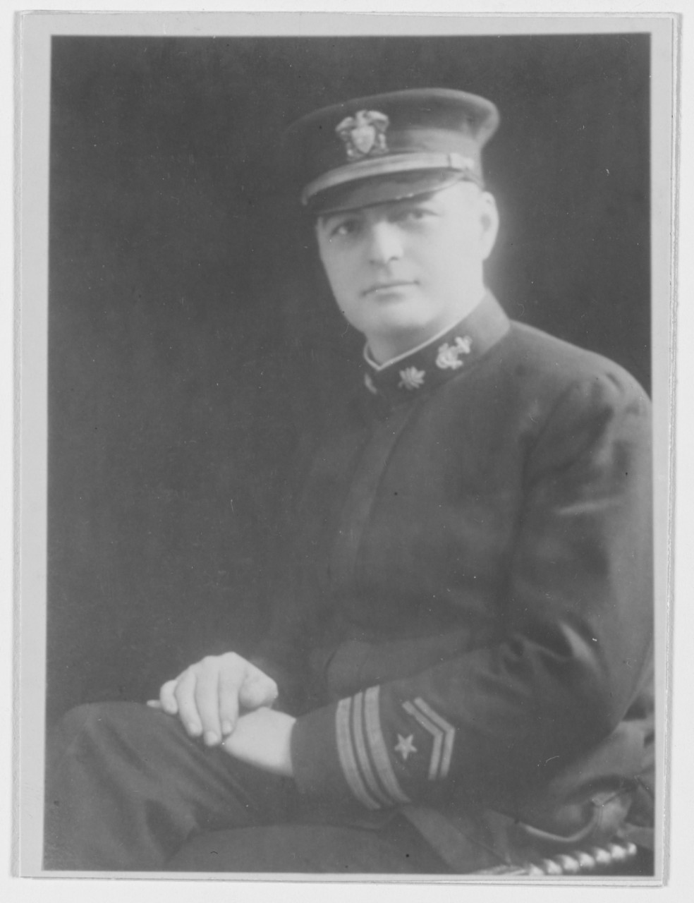 Photo #: NH 44173  Lieutenant Commander Daniel A.J. Sullivan, USNRF