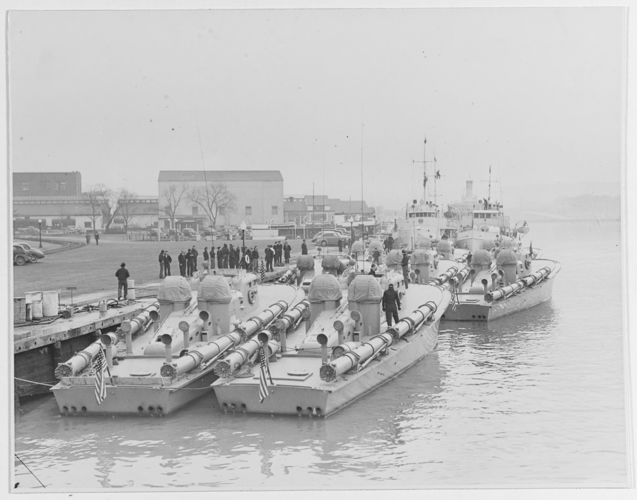 Navy PT Boats of Motor Torpedo Boat Squadron Two