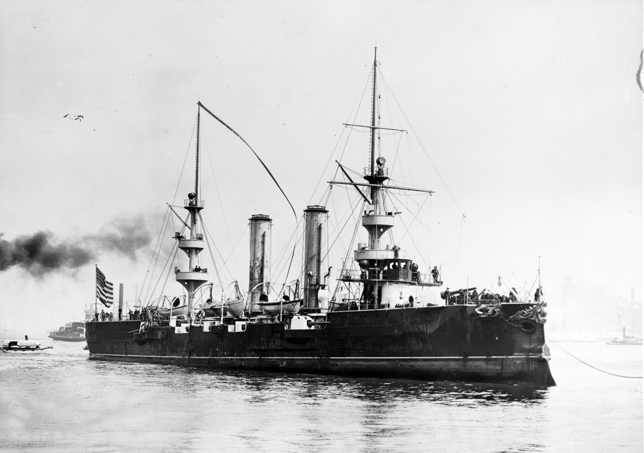 Photo #: NH 45114  USS New Orleans (1898-1929)