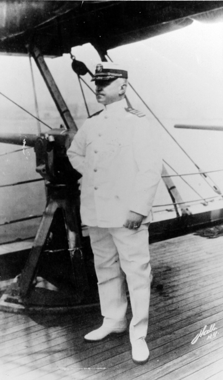 Captain William R. Rush, USN