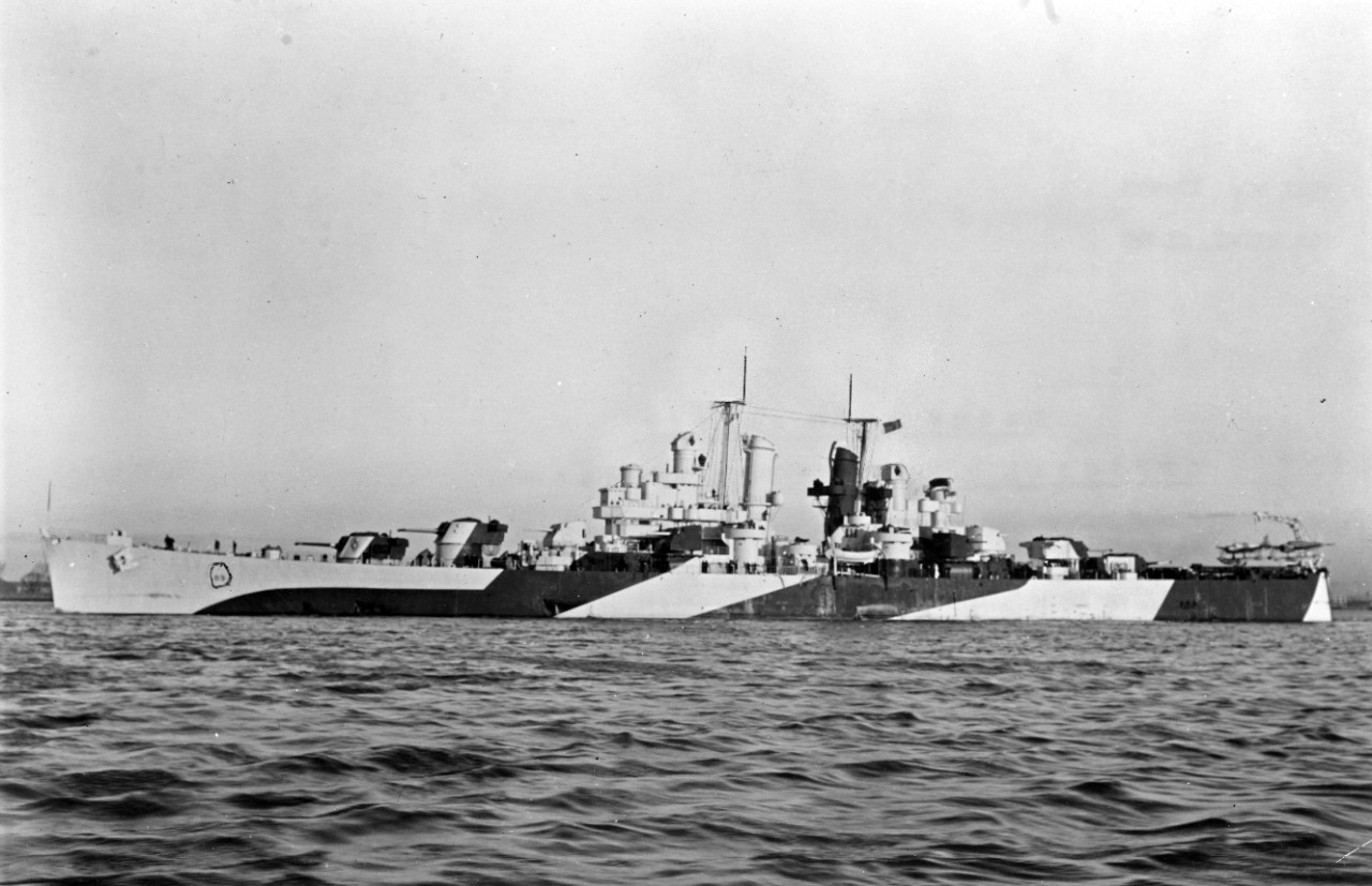 Photo #: NH 46257  USS Miami (CL-89)
