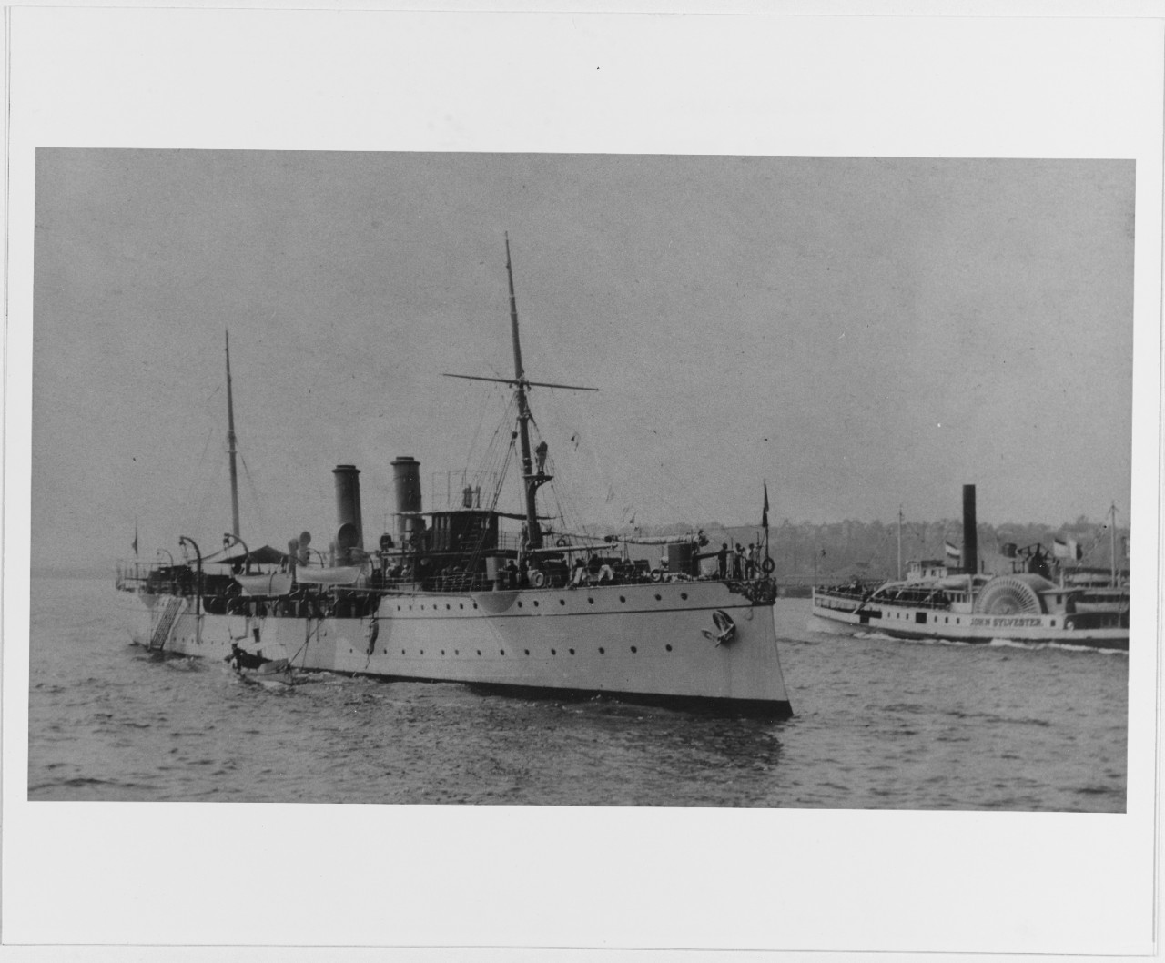 MORALES Mexican Gunboat, 1903