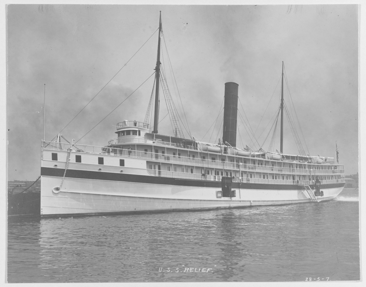 Photo #: NH 50040  USS Relief (1908-1919)