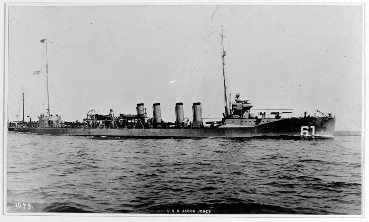Photo #: NH 52123  USS Jacob Jones