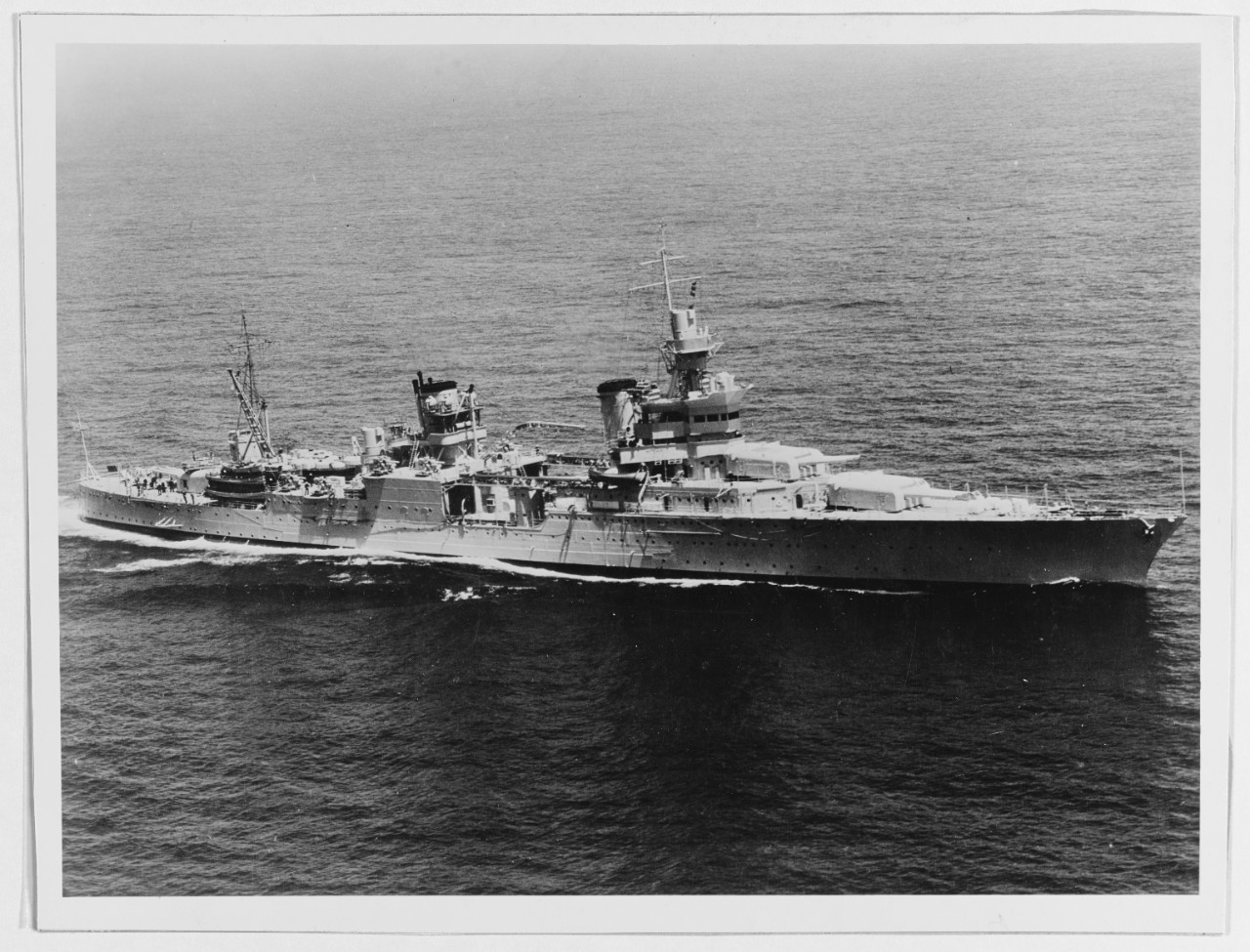Photo #: NH 53229  USS Indianapolis (CA-35)