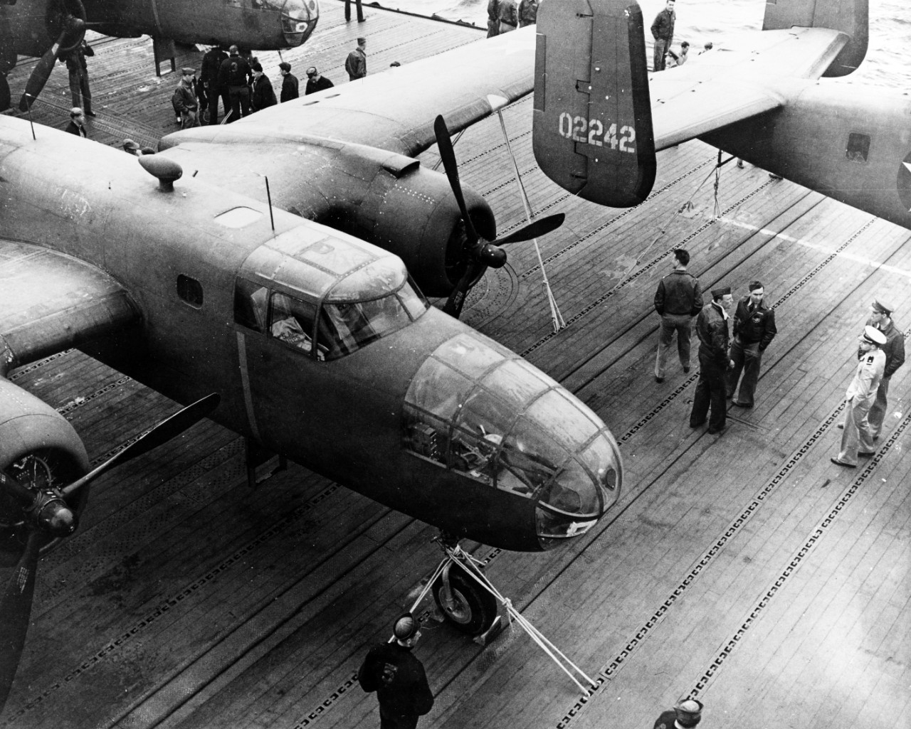 Doolittle Raid on Japan, 18 April 1942
