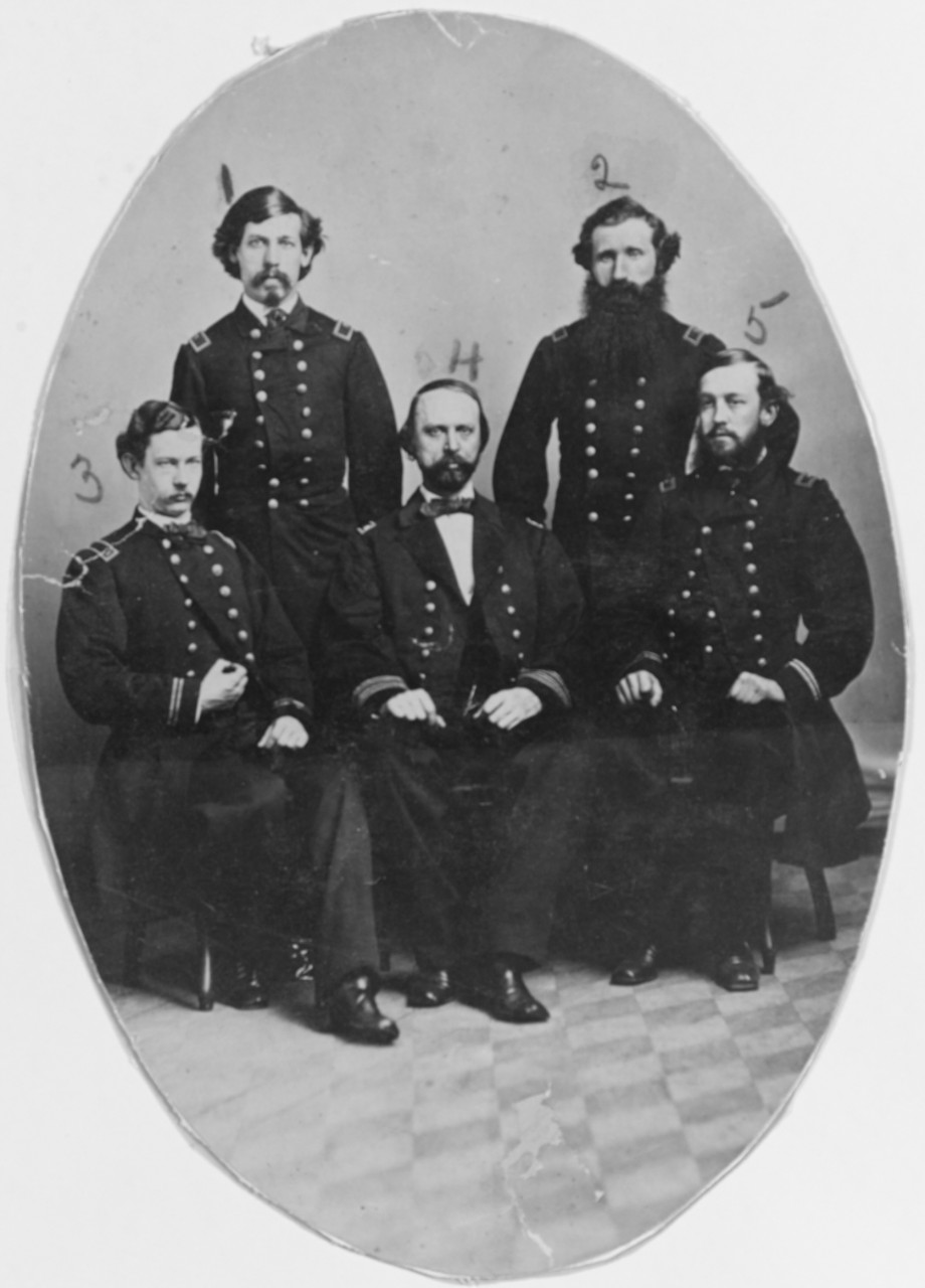 Staff Officers of Naval Hospital, Memphis Tennessee 1863
