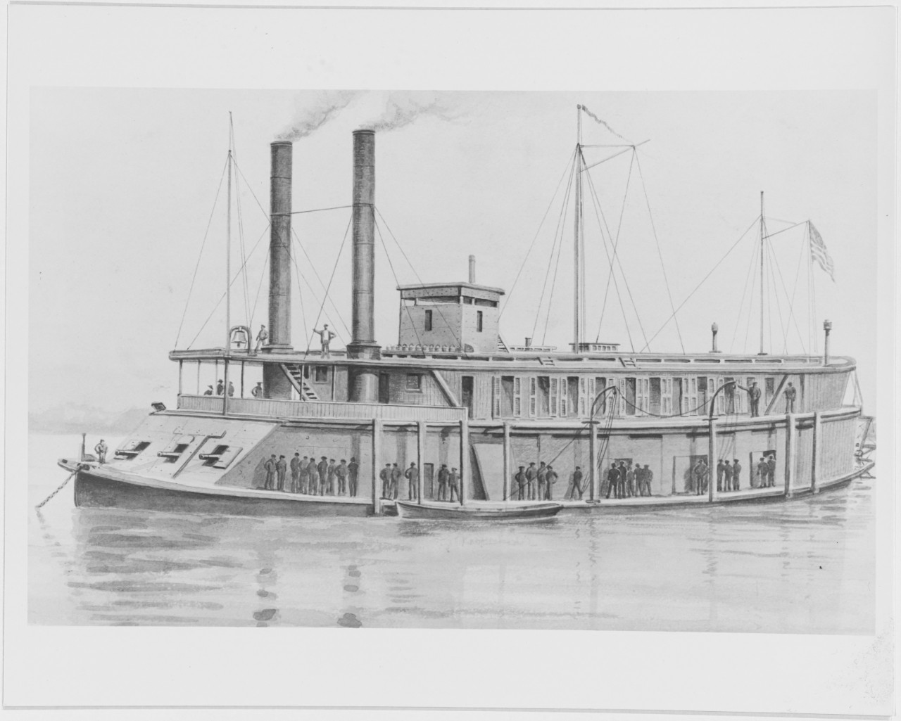 Photo #: NH 55836  USS Rattler (1862-1864)