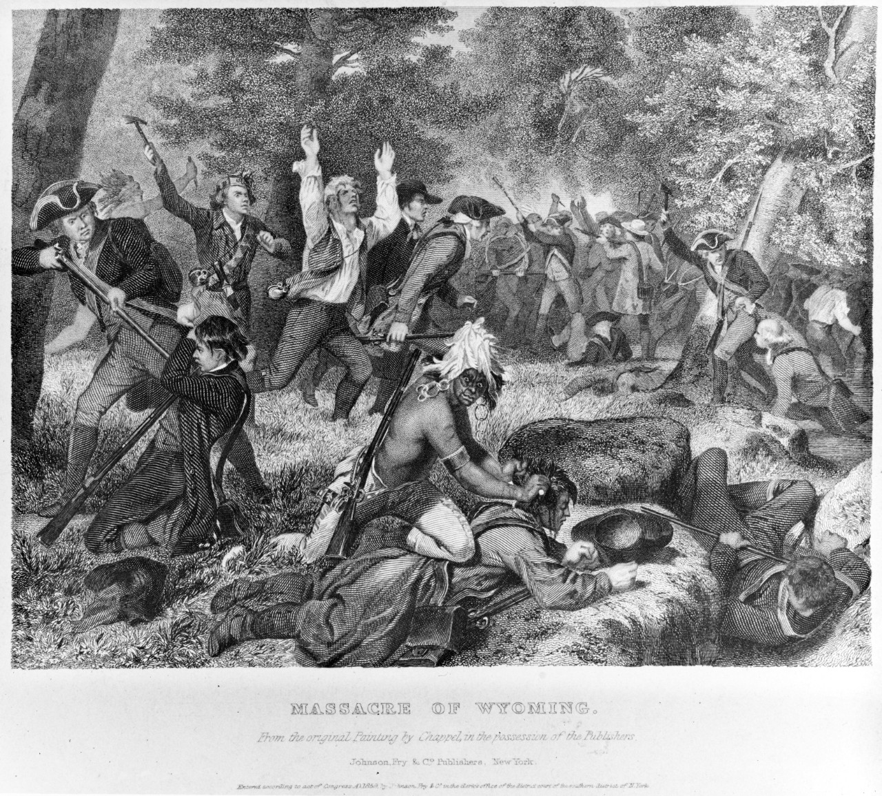 Massacre of Wyoming, 3-4 July 1778