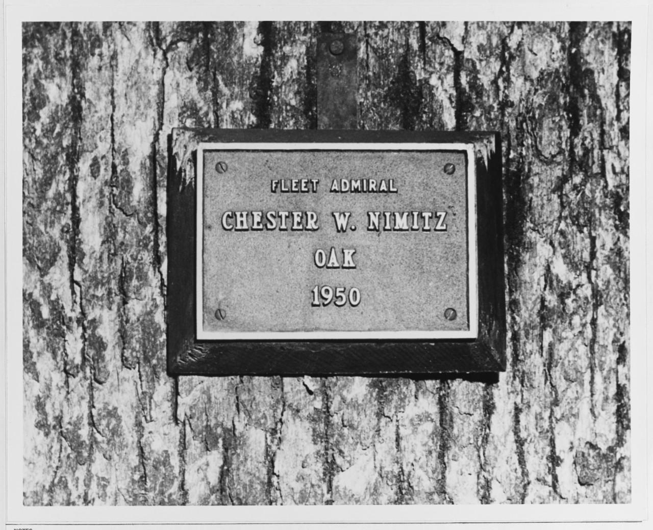 Nh 62427 chester w nimitz oak tree spiegel grove for Spiegel history