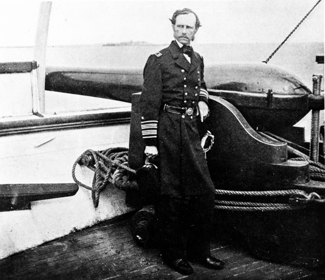 Photo #: NH 63362  Rear Admiral John A. Dahlgren, USN