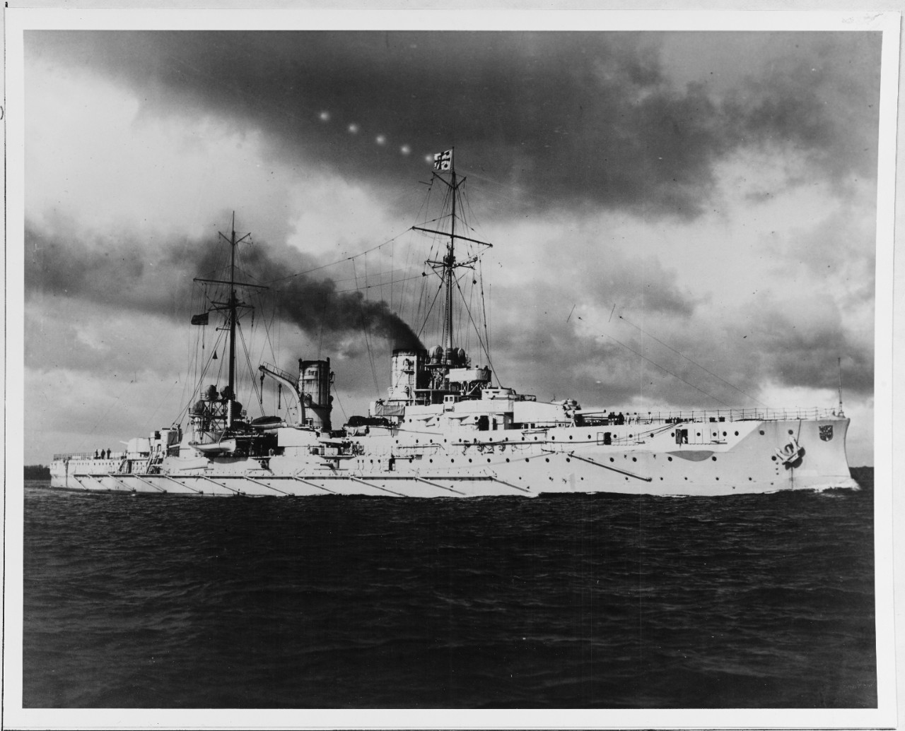 SMS BLUCHER (German armored cruiser, 1908)