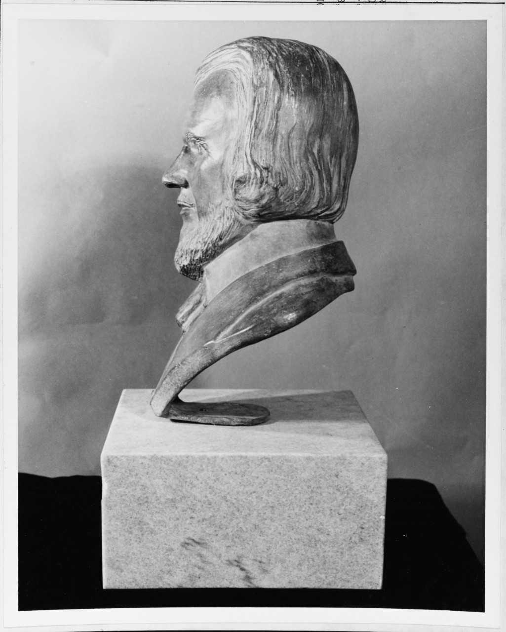 Bust of H.L. Hunley