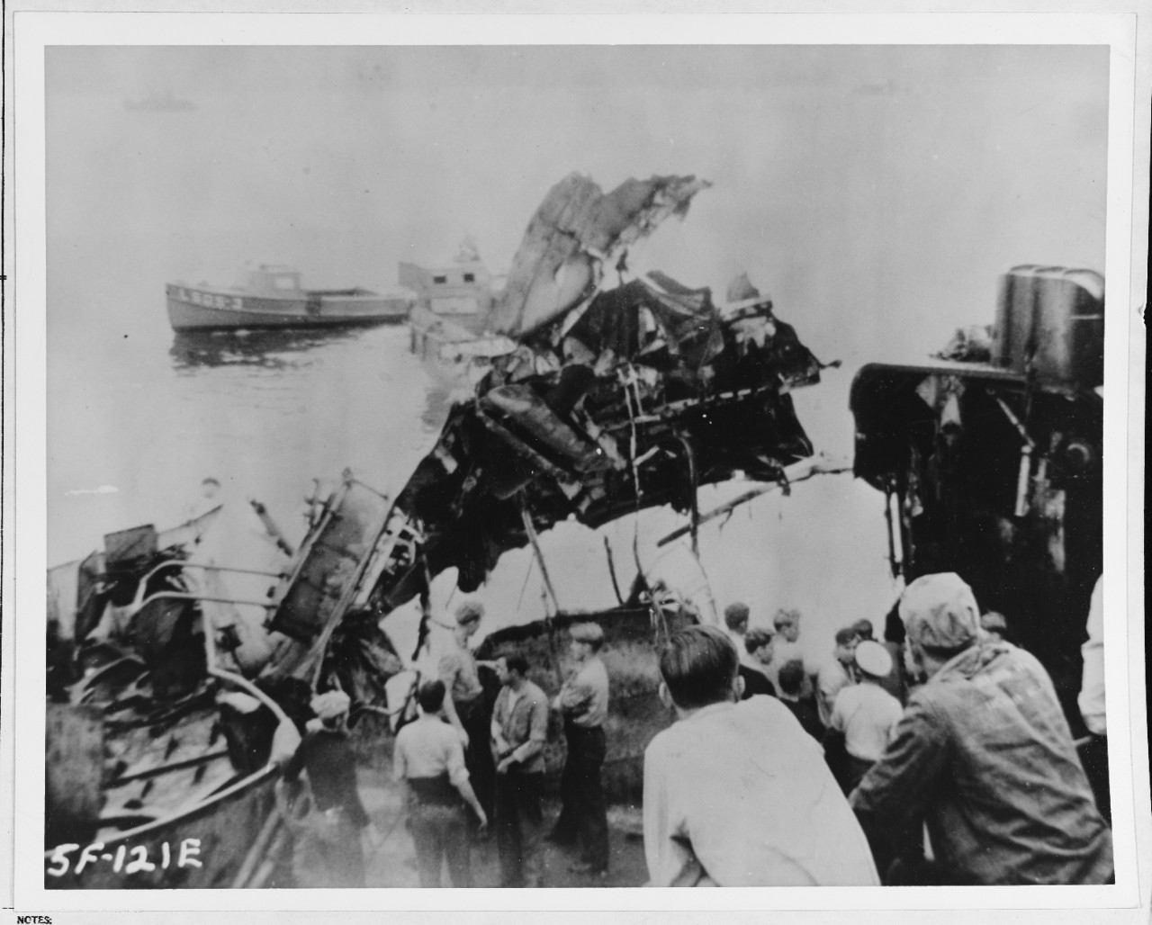 Kamikaze attack on USS LEUTZE (DD-481)