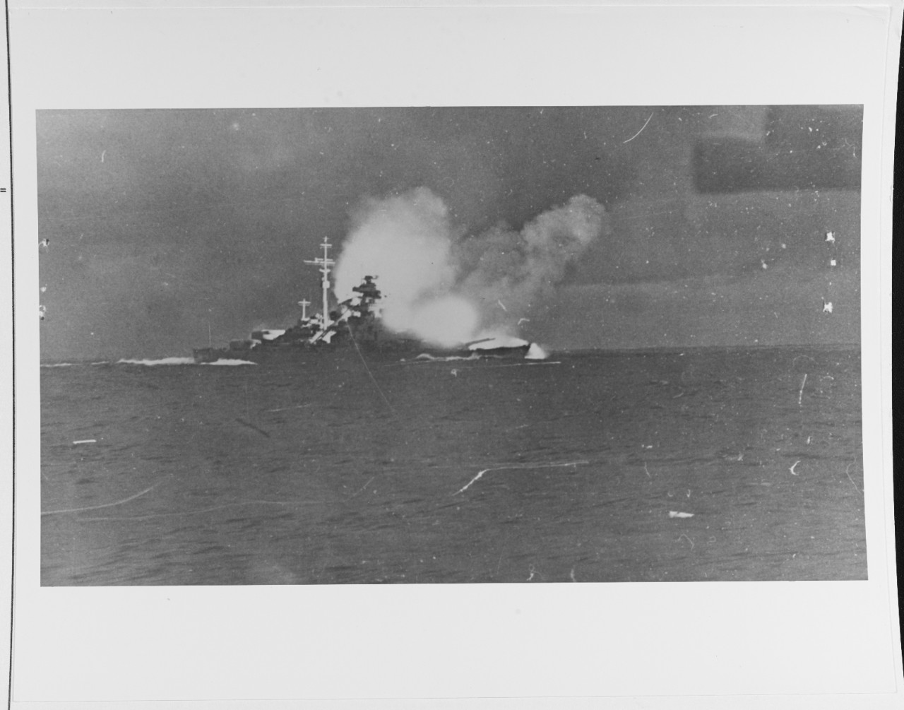 Photo #: NH 69730  Battle of the Denmark Strait, 24 May 1941