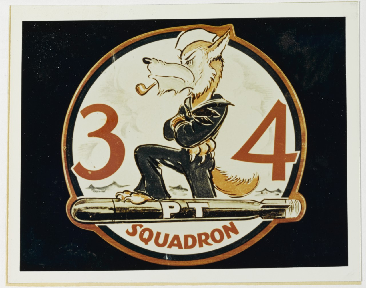 Insignia: Motor Torpedo Boat Squadron Thirty-Four
