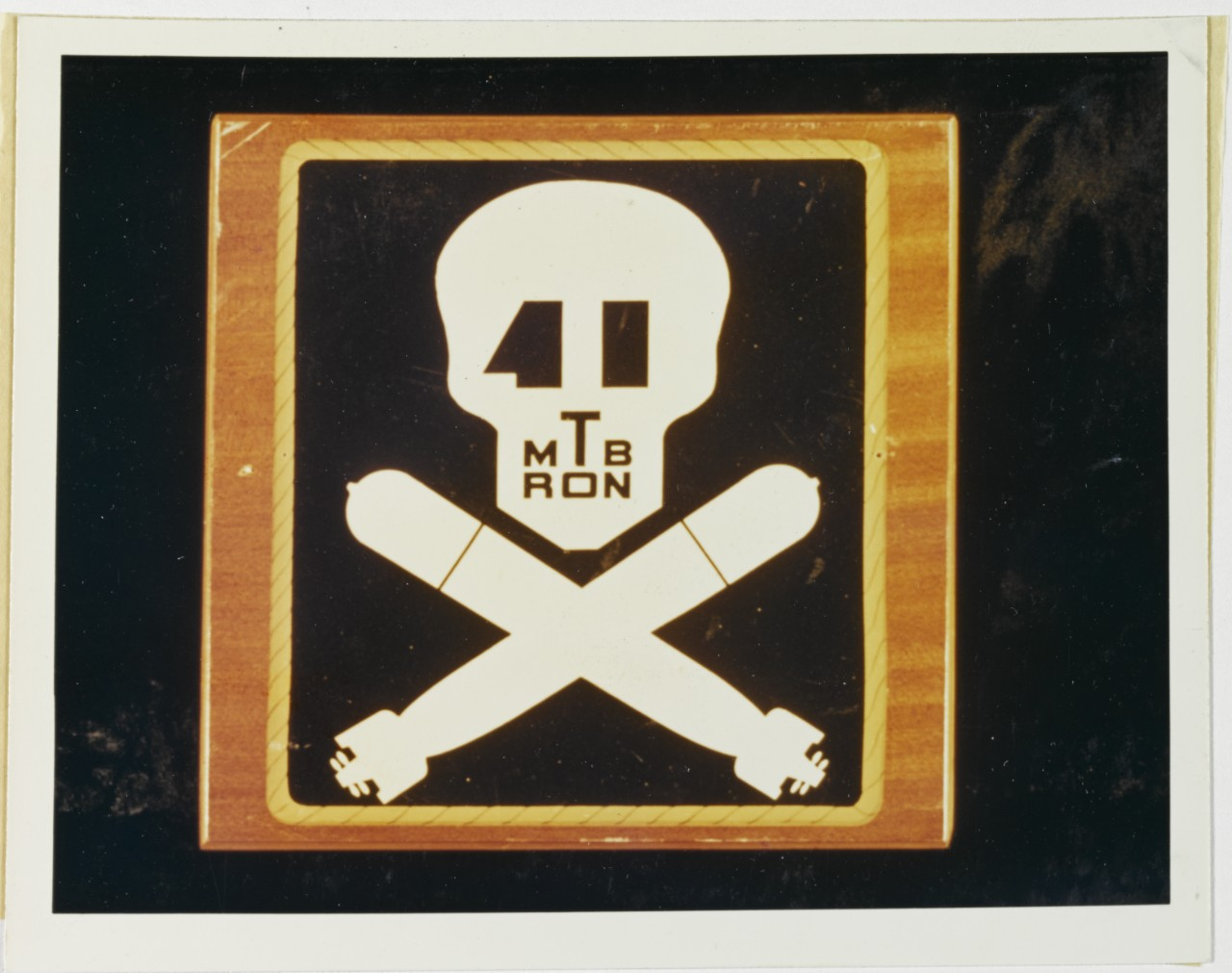 Insignia: Motor Torpedo Boat Squadron Forty-One