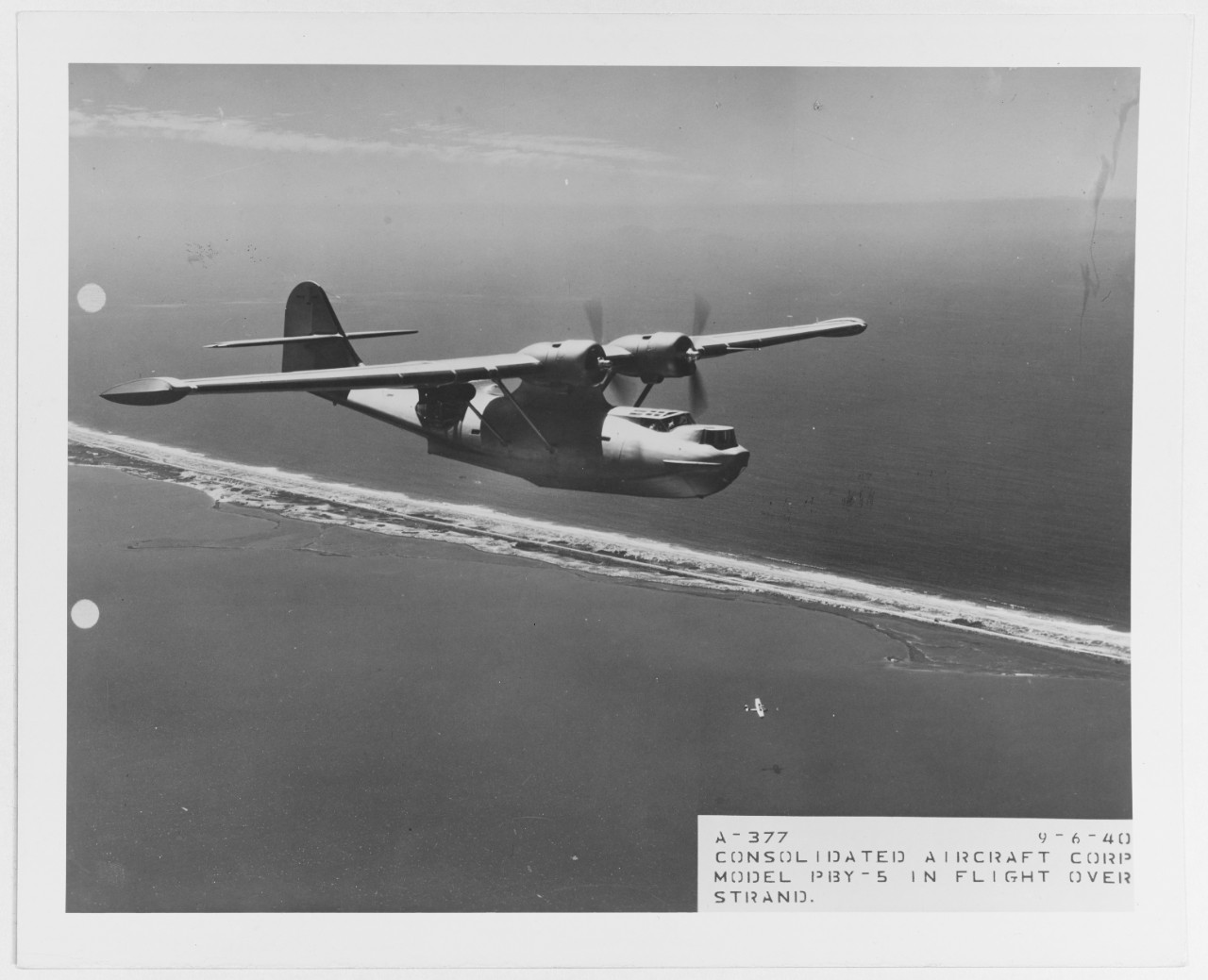 Consolidated PBY-5 Catalina patrol plane