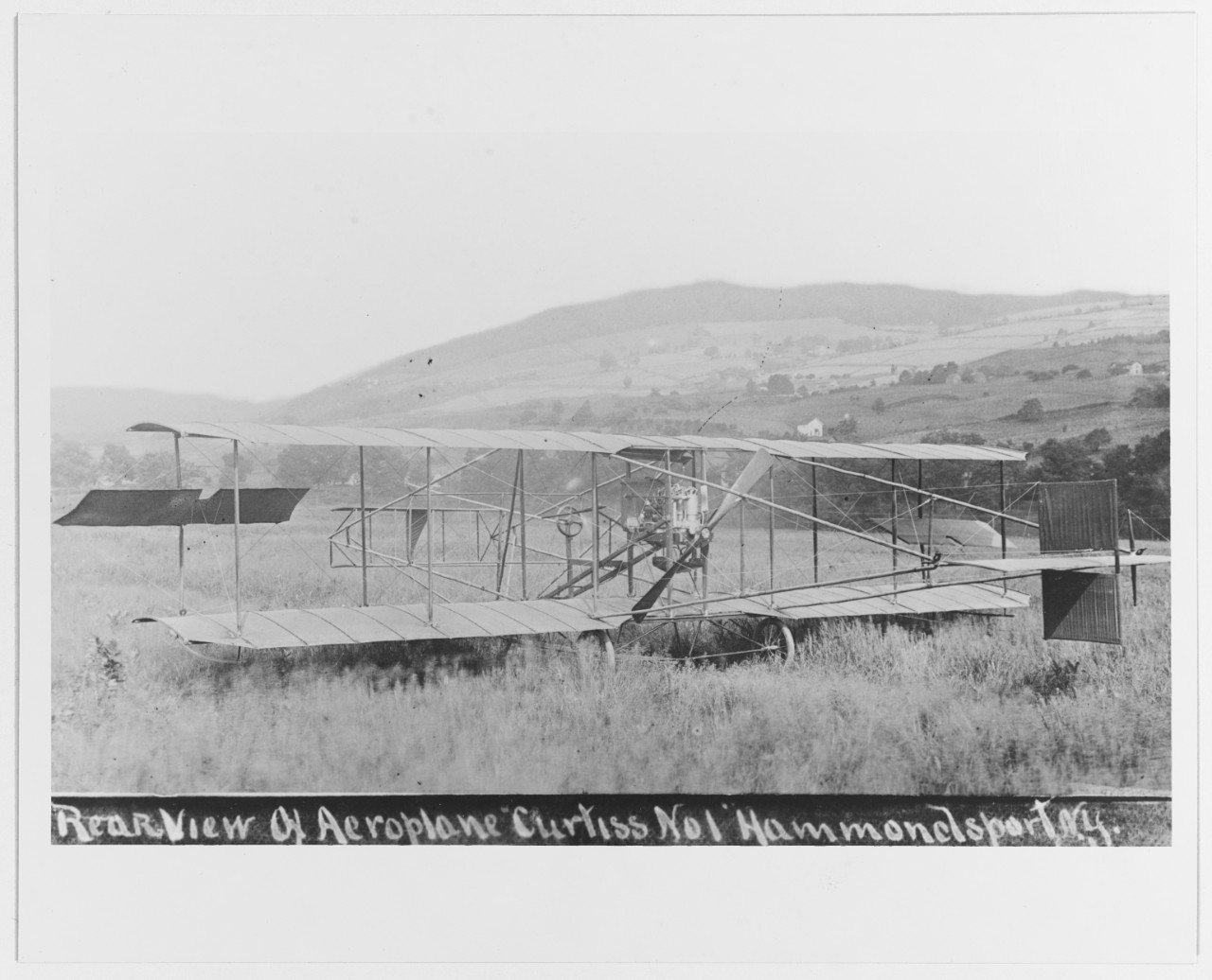 Curtiss's first aircraft