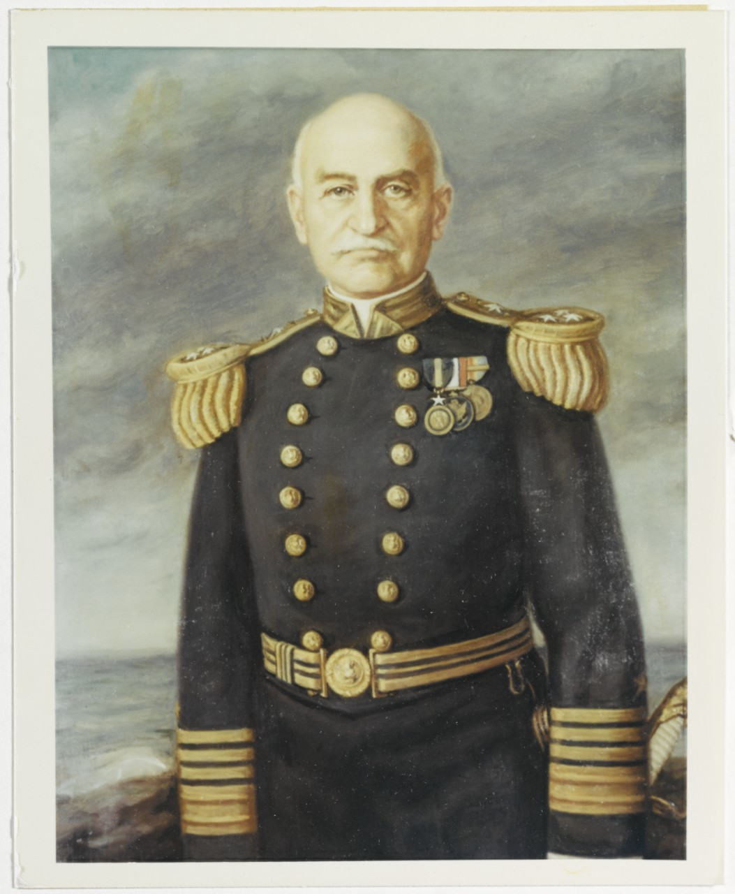 Photo #: NH 77665-KN Admiral William S. Benson, USN