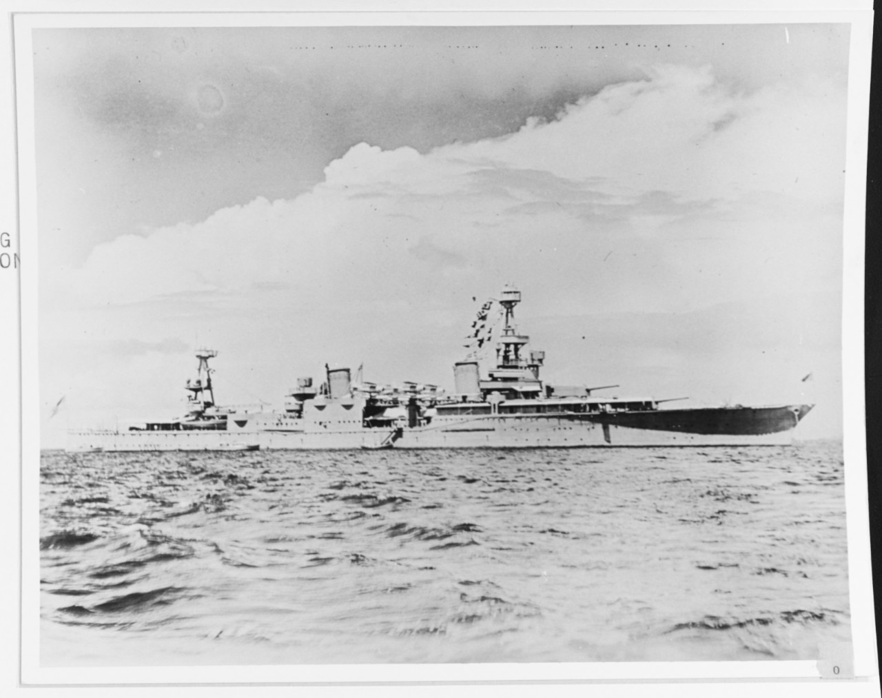 Photo #: NH 81592  USS Houston (CA-30)