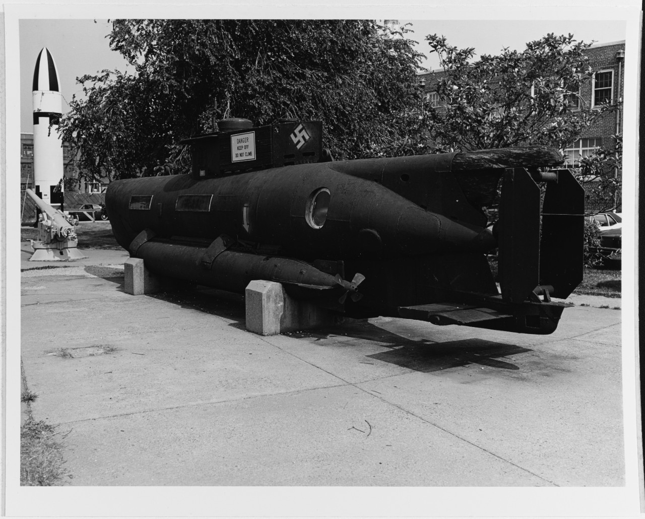 "German type XXVIIB ""Seehund"" midget submarine"