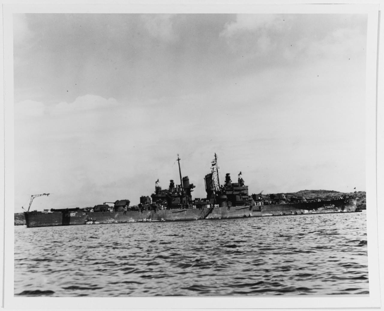 NH 84398 USS Denver (CL-58