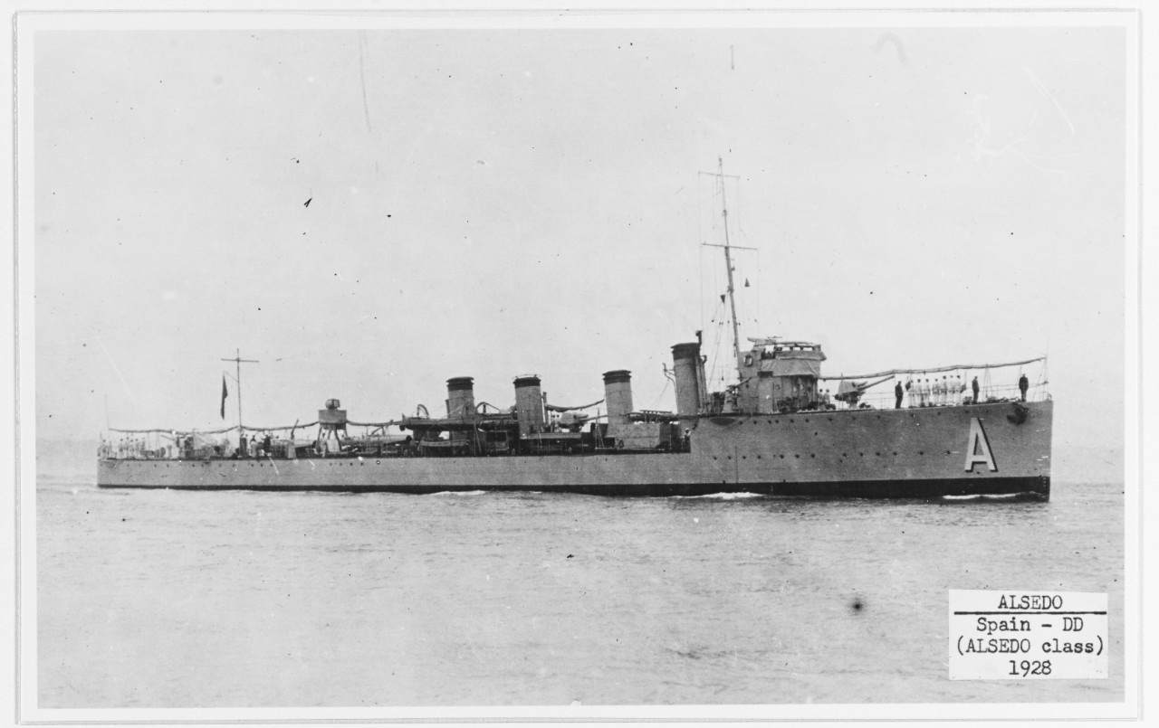 ALSEDO (Spanish destroyer, 1922-1957)