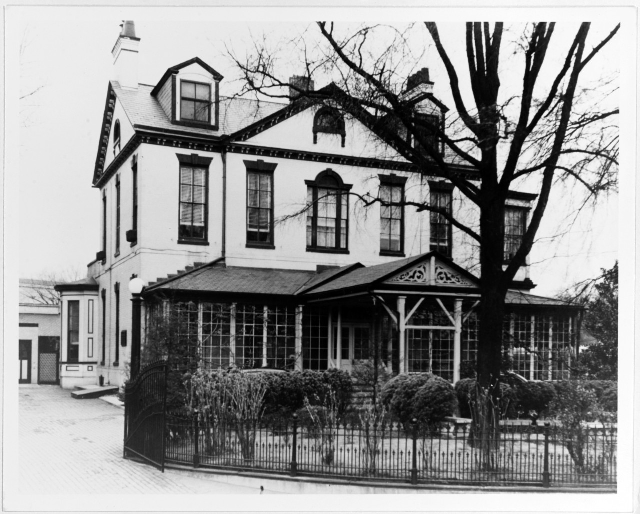 Tingey House, Washington Navy Yard, March 1, 1949.