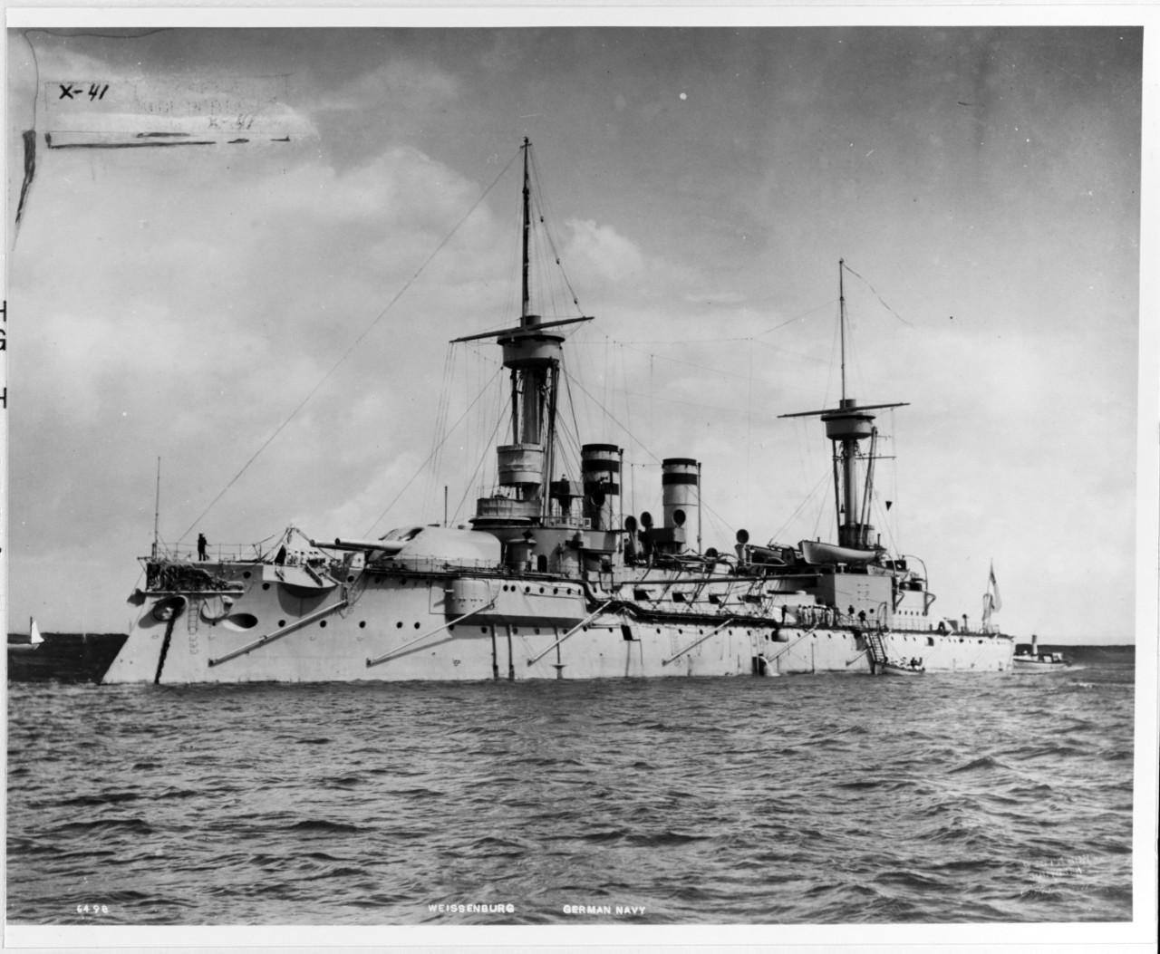 WEISSENBURG (German Battleship, 1891-1938)