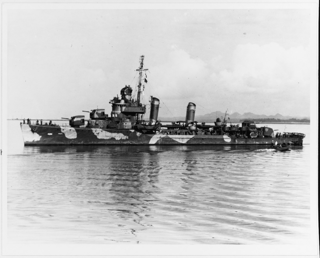 Photo #: NH 89418  USS Meredith (DD-434)